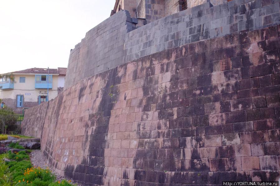 Остатки стен храма Солнца