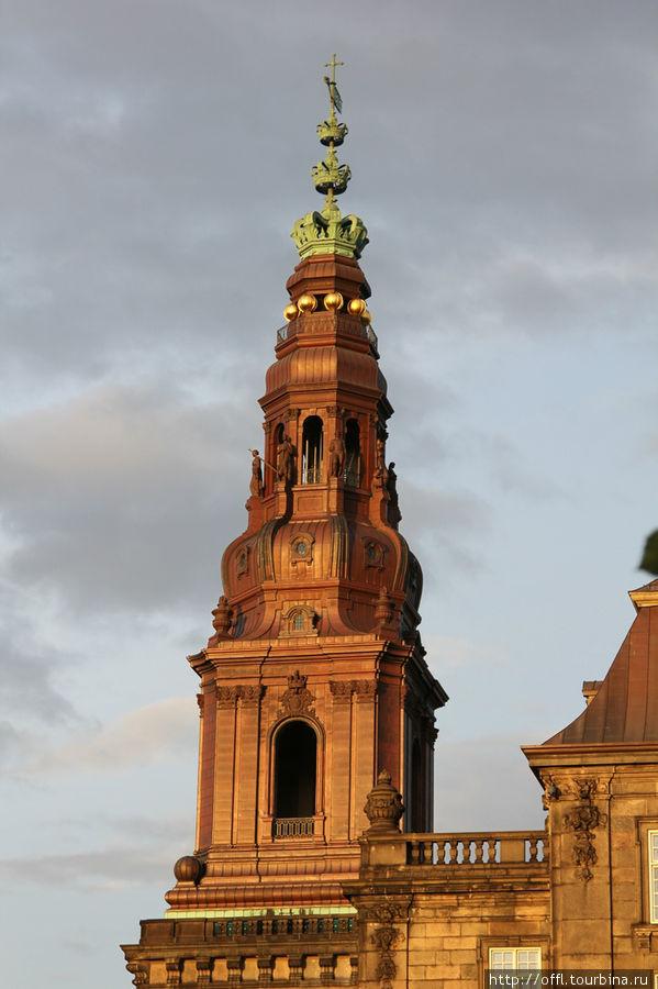 Башня дворца Кристиансборг