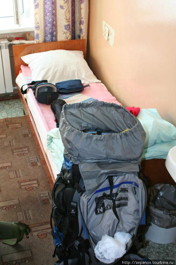Комната в гостинице Красн