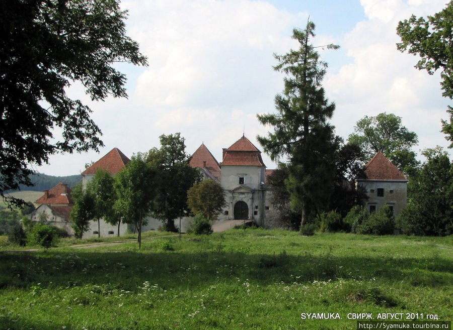 Свиржский замок.