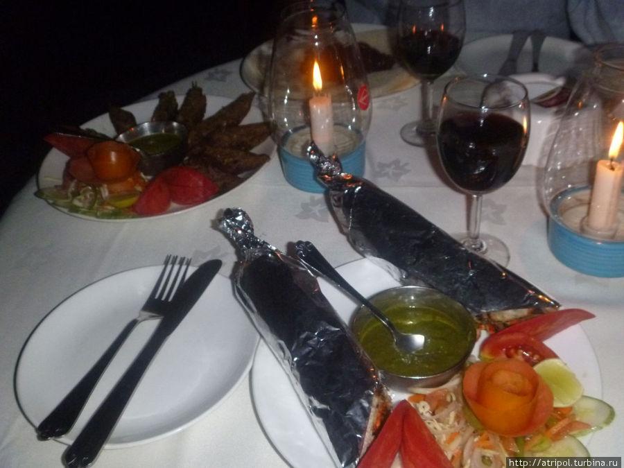 Ресторан отеля Параисо- настоящий рай для гурманов. Кандолим