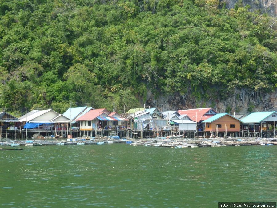 Южный Таиланд. Андаманское море. Деревня морских цыган.