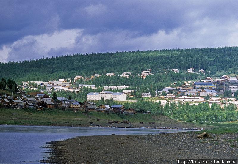 Байкит — самый крупный посёлок на Подкаменной Тунгуске.