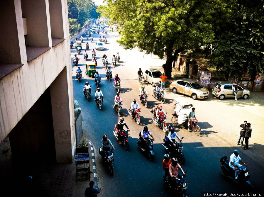 Traffic in India