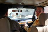 Вывозили из города на такси, за которое платить нам запретили- на востоке платят те, к кому ты приходишь в гости