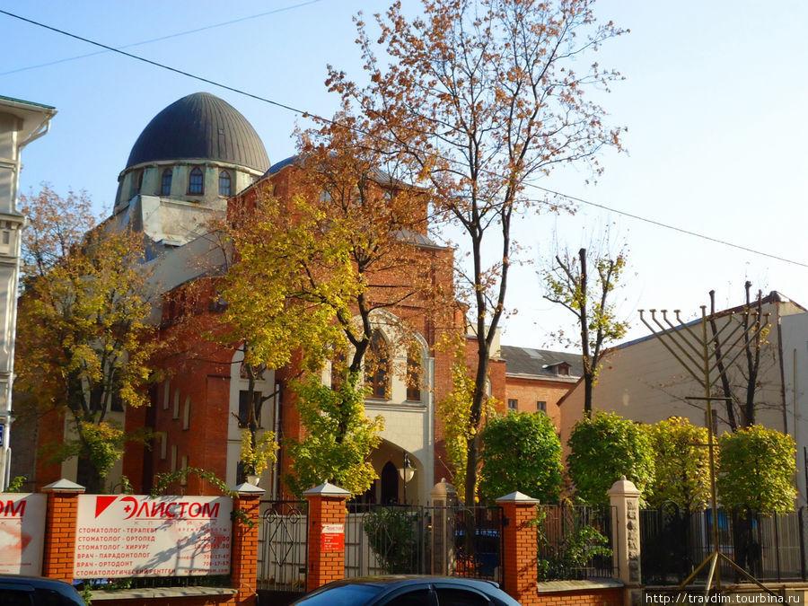 Харьковская хоральная синагога.