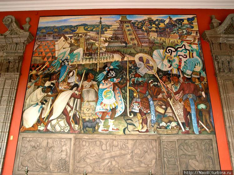 А это праздник в Теночитл