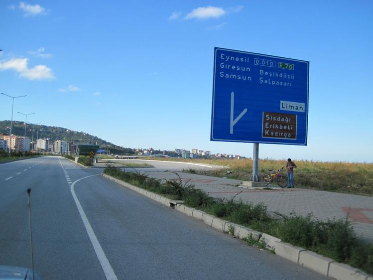 Дороги в Турции шикарны,