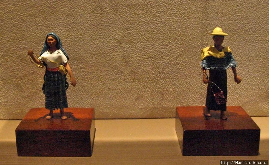 Чиапас женский  и мужской костюм