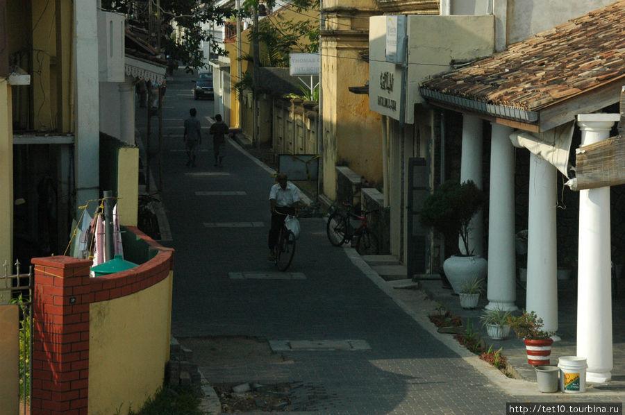 улочки Галле Тангалла, Шри-Ланка
