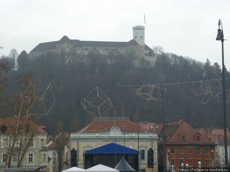 Любляна.Град.