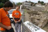 На руинах амфитеатра