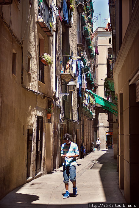улочки Барселоны