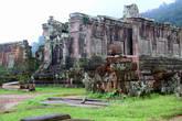 Руины главного монастырского храма