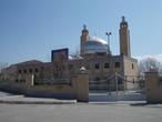 Мечеть имени Фатимы в центре городка