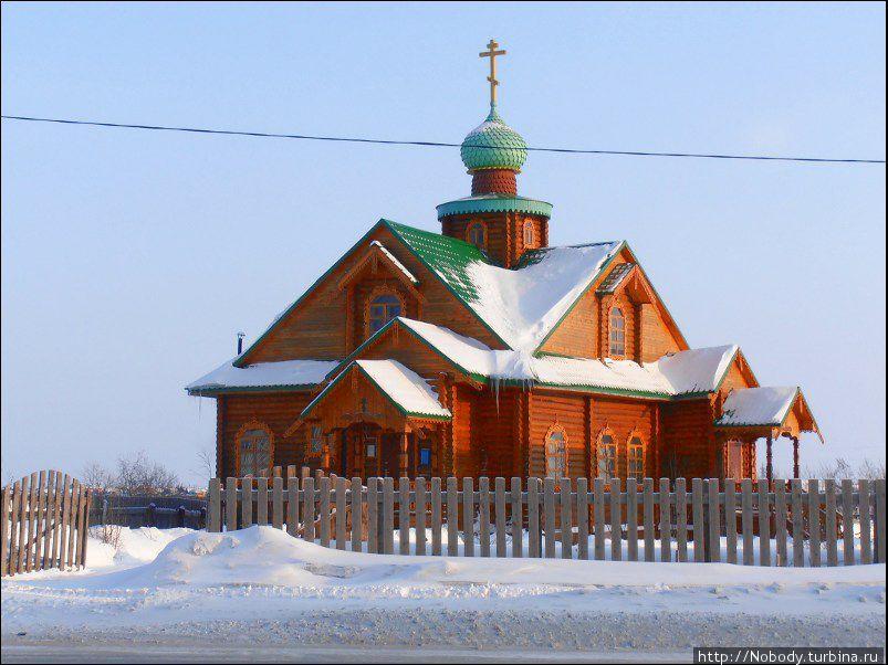 Староверческий молельный дом.