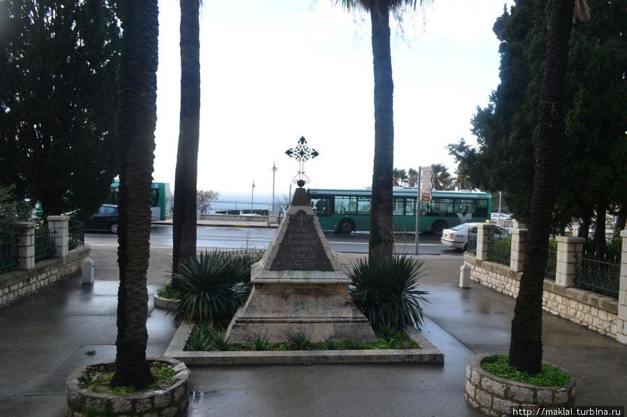 Памятник погибшим солдатам армии Наполеона