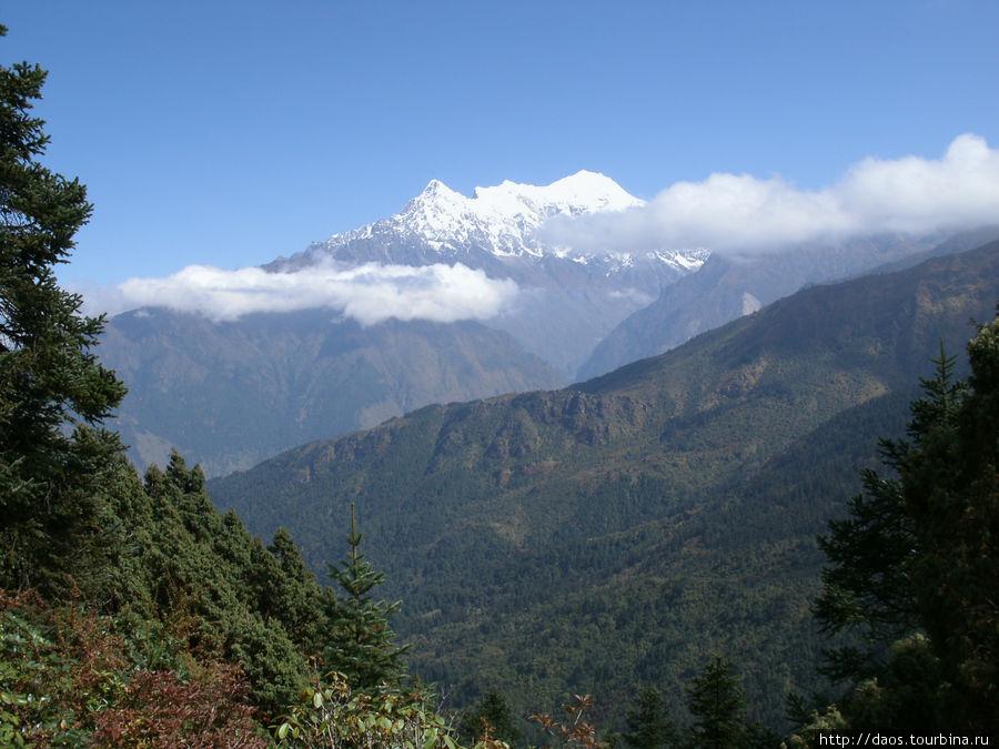 Горы (Ганеш химал)