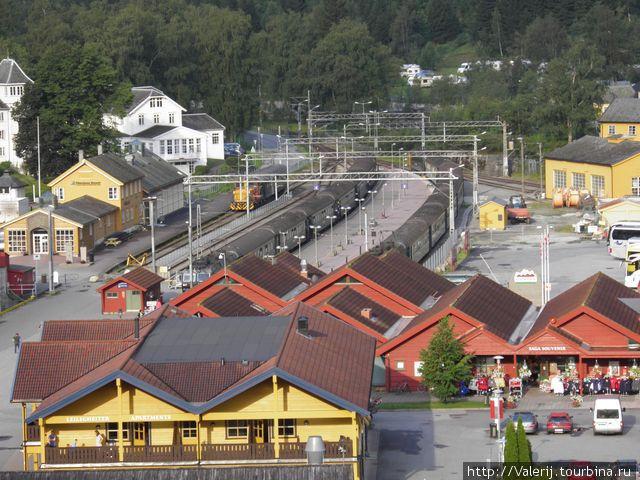 Станция Фломсбаны