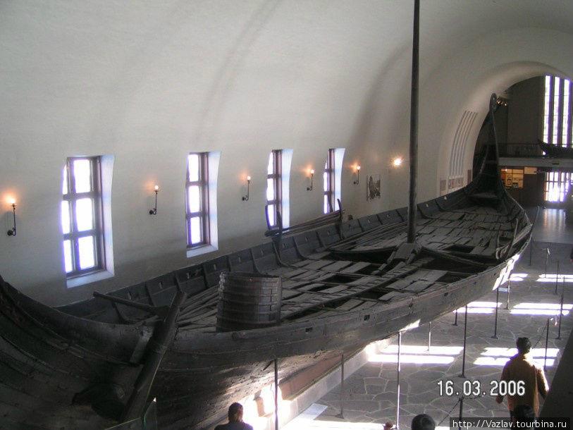 Панорама викингского судна