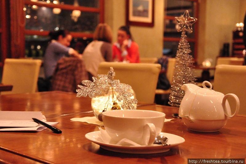 Вечер с чаем: зимний вариант, с пряностями.