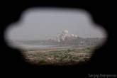 Вид на Тадж-Махал
