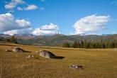 Вид на Южно-Чуйский хребет