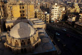 Вид с минарета мечети Аль-Азхар.