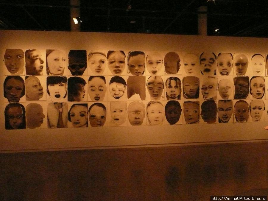 картинная галерея в Нобелевском центре Премии мира