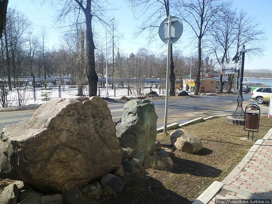 На улице Ольги Берггольц Углич, Россия
