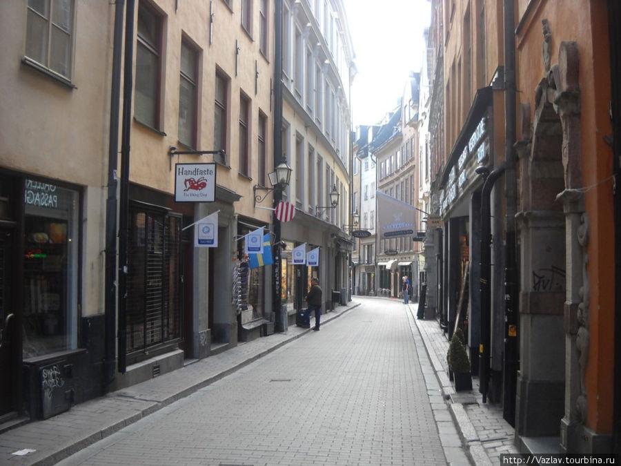 Центральная улица района