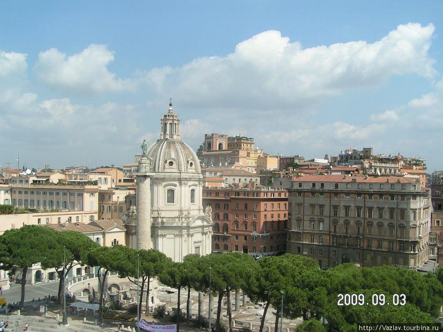 Вид на форум Траяна