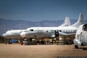 Некоторые из них думали перекрасить, переоборудовать и использовать для нужд гражданской авиации, да так и не сложилось.