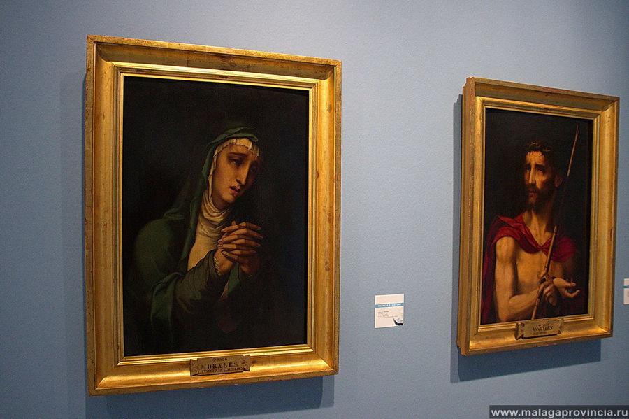 Две работы Луи де Моралеса, 1586 г. из Музея Прадо