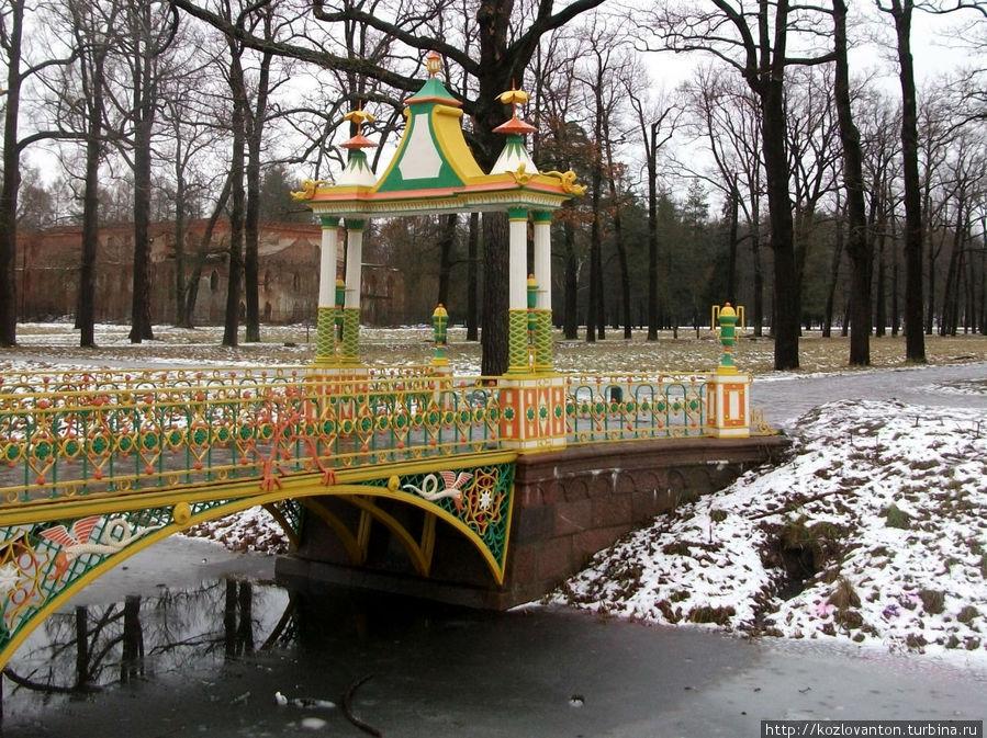 1-й малый железный китайский мост.