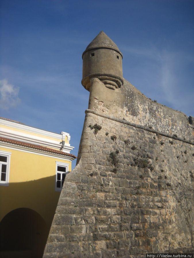 Один из бастионов крепости