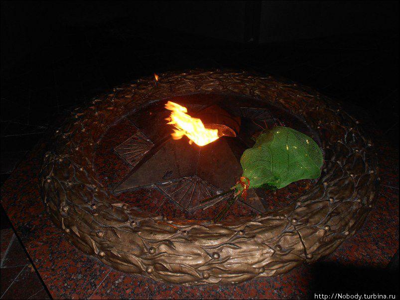 Вечный огонь...
