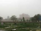 мавзолей в пыльную бурю