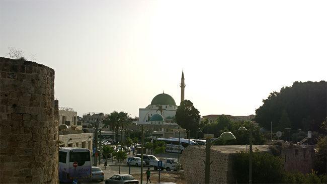 Вид на старый город и мечеть Аль-Джаззар