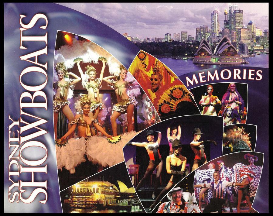 Это красочная обложка фотографии на память.  Мы сфотографировались компанией и нам каждому выдали по экземпляру.  По картинкам можно примерно представить формат шоу-программы.