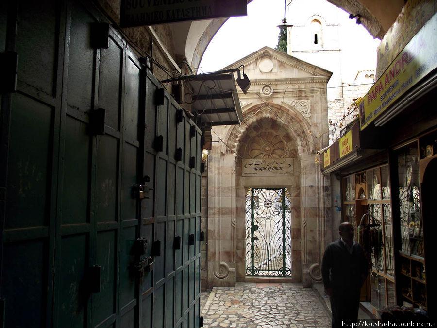 ворота Мечети Омара