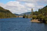 озеро Чейбеккель (вытянутое озеро)