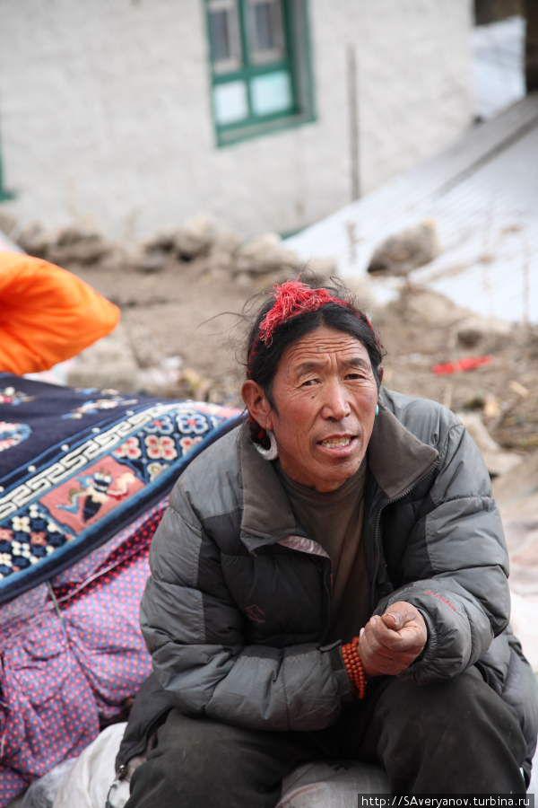 Тибетский рынок в Намче