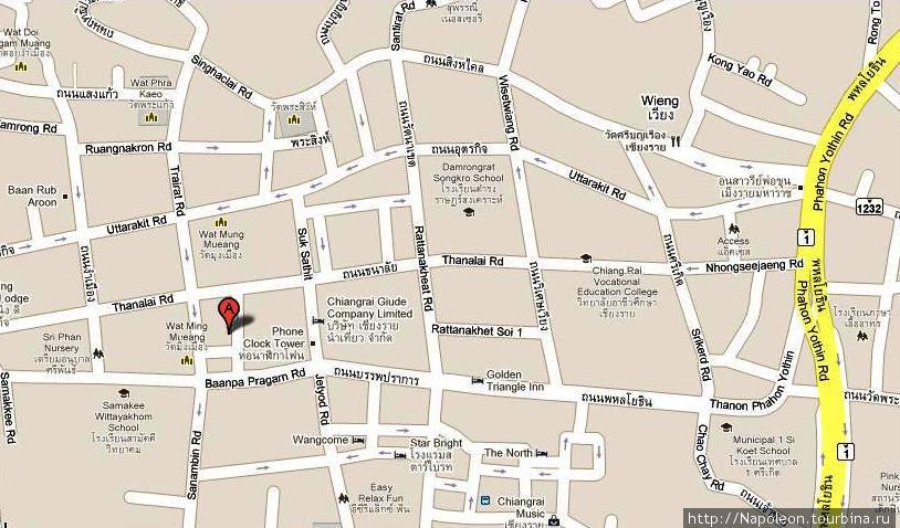 по этой карте вы сможете легко добраться до места