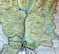 Наш маршрут по Военно-грузинской дороге и Мцхете