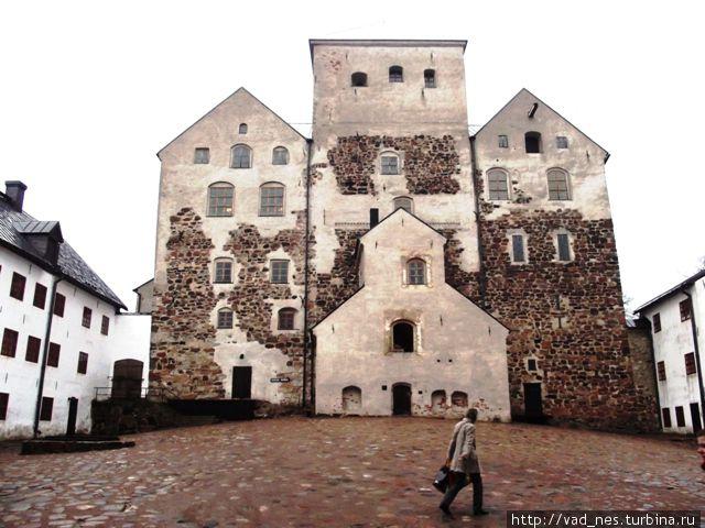 Внутренний двор замка Турку.