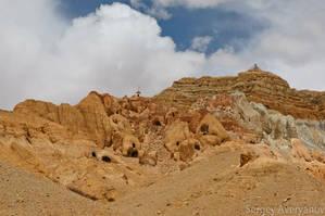 Развалины пещерного города Кюнлунг
