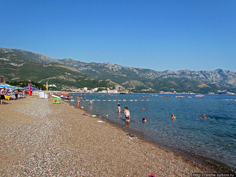 побережье пляжа
