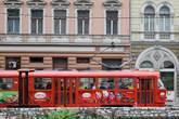Трамваи — все те же знакомые чехословацкие Татры.