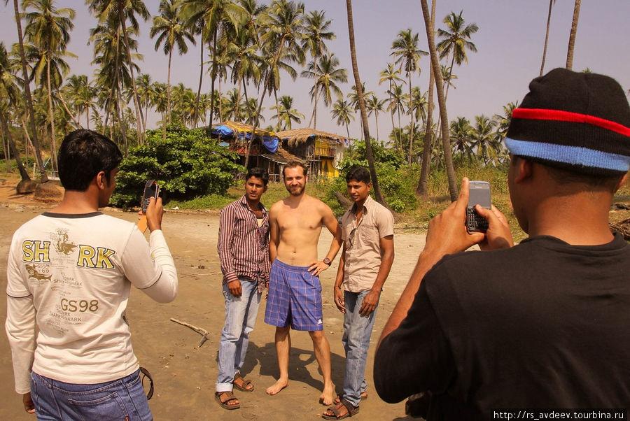 В Индии нас уже узнают на улицах :)